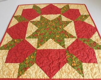 Fall Colors Star-Reversible to Leaves-Free Shipping to US and Canada