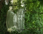 Birdfeeder Upcycle Recycle Salvage diy thrift flea repurpose cottage garden decor vintage recycle bird bath shabby chic recycle butterfly