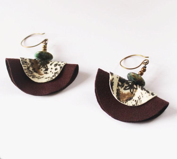 Tribal Earrings Boho Earrings Animal Print Fabric. Panna Emerald. Rose Gold Emerald. Mercury Emerald. Hunting Emerald. Tumbled Stones Emerald. Two Emerald. Emeral Emerald. Museum Emerald