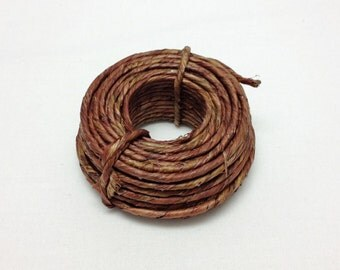 Grapevine Wire - 40 Feet of Vine Wrapped Rustic Feel Craft Wire - Beach Wedding Crowns, Woodland Crown