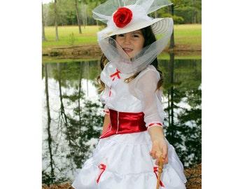 Mary Poppins Costume Etsy