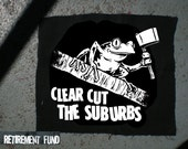 Clearcut the suburbs treefrog direct action PATCH