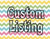 Custom listing for momincs