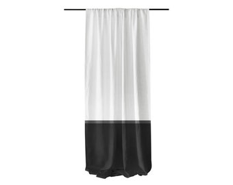 Popular Items For Color Block Curtains On Etsy