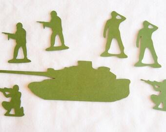 Military Die Cuts