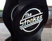 Vinyl Record Headphone Stand