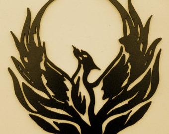 Phoenix,Southwest,Mythical bird,Metal Art