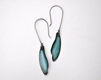 Azure Dragonfly Earrings