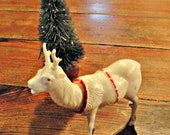 Vintage Bobblehead Reindeer Decoration