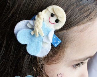 Princess Elsa Inspired Hair Clip - Frozen