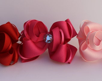 Dog Collar Bows, three boutique style