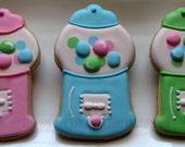 Gumball Machine Cookies 2 dozen