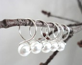 Lace - Snag Free Knitting Stitch Markers (Medium) - Fit up to size 11 US (8.0 mm)