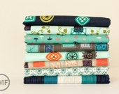 Half Yard Bundle Homebody, 8 Pieces, Kim Kight, Cotton+Steel, RJR Fabrics, 100% Cotton Fabric