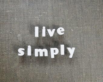 LIVE SIMPLY - Vintage Ceramic Push Pins