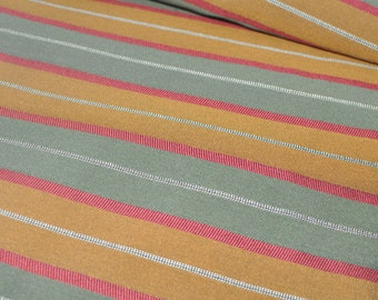 Upholstery Fabric - Lined - Striped - Vintage Fabric - Drapery Quality