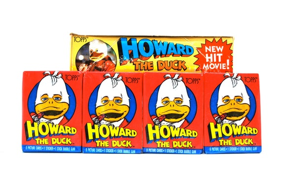 Howard The Duck Trading Cards/Stickers Made By By