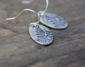 Botanical Fern Leaf Earrings | Gift for Women | Gift for Her | Sterling Silver Woodland Jewelry