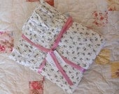 Blissfully Cottage Ruffle Cases using Northcote Range by Cabbages & Roses and designed and sewn by Mickey Zimmer