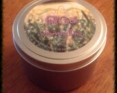 Lavender, Cucumber, and Sage Scented Soy Candle - 8oz Tin Scented Candle