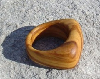 Wood Ring Size 8 - Olive Wood Ring