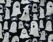 Ghosts Glow In Dark Cotton Fabric Fat Quarter or Custom Listing