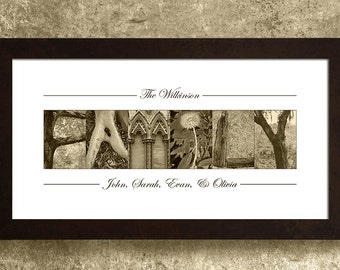 Family Sign, Personalized Family Sign, Established Date Sign, Last Name Wall Art, Gift for Mom, Gifts Under 30, Family Gifts, Family Decor