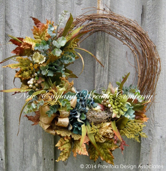Sale Fall Wreath Autumn Wreathsthanksgiving By