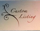 Custom listing for Mauree