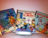 Little golden books, Dennis the Menace, Paul Revere, Ruff and Reddy