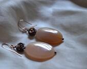 Rosy Dangle Earrings