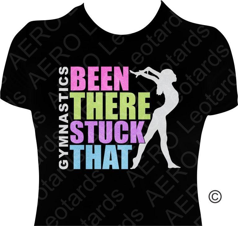 Gymnastics gymnast glitter t shirt gymnastic shirt by Gymnastics t shirt designs