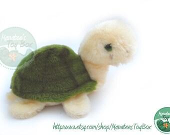 1980s Plush Turtle by Dakin 1980s Toy