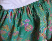 crib skirt CUSTOM - choose your cotton fabric - dust ruffle