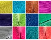 "12 (Summer 2014) Color Packs of Culture Pop Quilling Paper Strips.  12 individual packs in 1/8"", 1/4"" or 1/2"" widths."