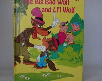 The Big Bad Wolf Notebook - Handmade Disney Notebook Little Red Riding Hood