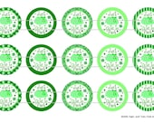 """15 Just Tutu Cute to Pinch 1 Digital Download for 1"""" Bottle Caps (4x6)"""