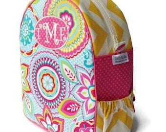 Personalized Toddler Backpack, Girls Backpack, Preschool Backpack, Kindergarten Backpack, Pink Backpack, Book Bag, Tote Bag, Diaper Bag