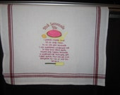 Pink Lemonade Pie Recipe Towel