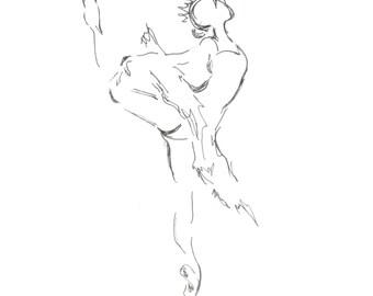 Art Sketch, Ballerina Sketch, Dancer Art, Drawings, Ink Overlay, Ballerina