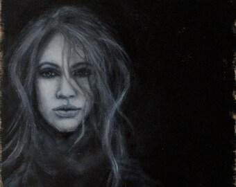 Beneath the Surface Original Acrylic Painting by Kelly Berkey