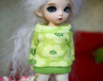 PDF PATTERN Cute Jersey tunic for PukiFee
