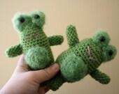 Franklin the Frog Amigurumi Crochet Animal Plush Plushie Softie