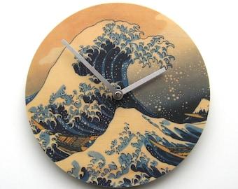 Objectify Great Wave Wall Clock - Medium Size