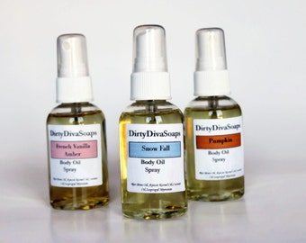 Moisturizing Body Oil Spray , Choose your Scent