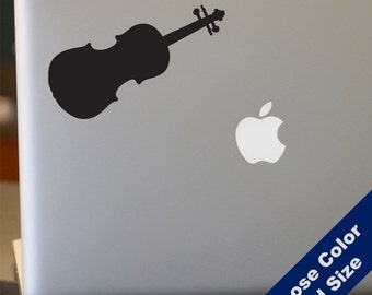 Violin Decal - Sticker for Laptop, Car, iPhone