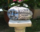 Welcome To Our Garden rock