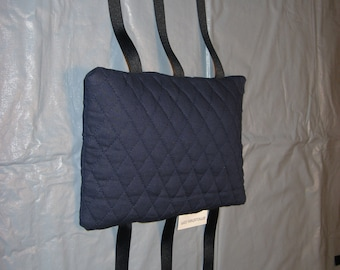 Armrest Cushions--Fit most chairs--arm rest ArmCushies--Fit IKEA Poang chair--Navy Blue--1 Pair