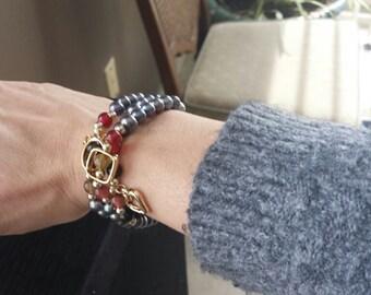 Pearl Bracelet Doubles as Necklace