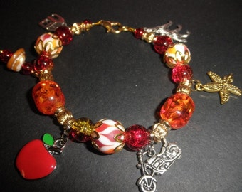 Ice and Flames Charm Bracelet 3